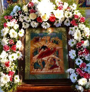 Рождественское поздравление настоятеля храма
